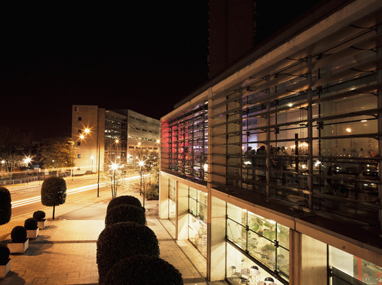 Millennium Gallery by night