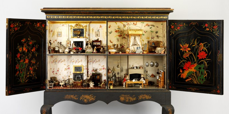 dolls house interior.  Small Stories At Home in a Dolls House Museums Sheffield